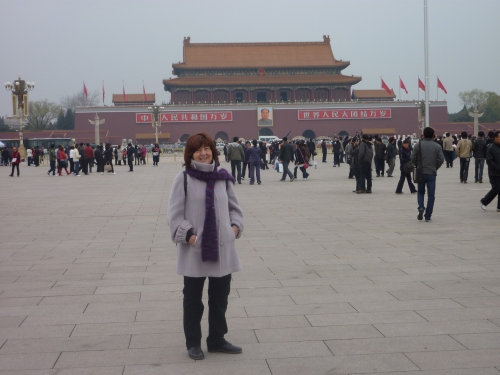 Tiananmen Square has seen a bit of action since I was last here in 1981