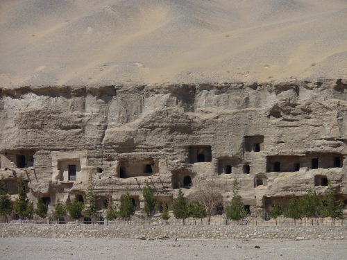 The World Heritage caves at Dunhuang.