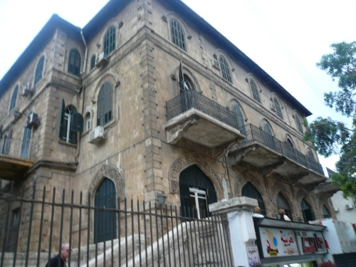 Lawrence's hotel du jour, the Baron, Aleppo
