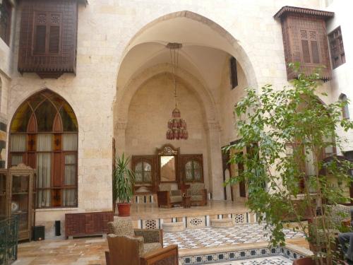 A hotel in Aleppo