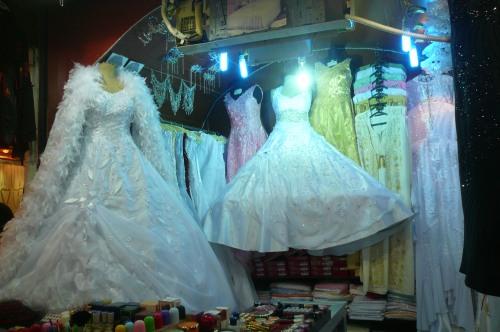 And the Aleppo souk has many treasures