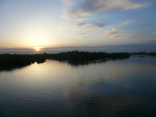 Sunset on the Euphrates