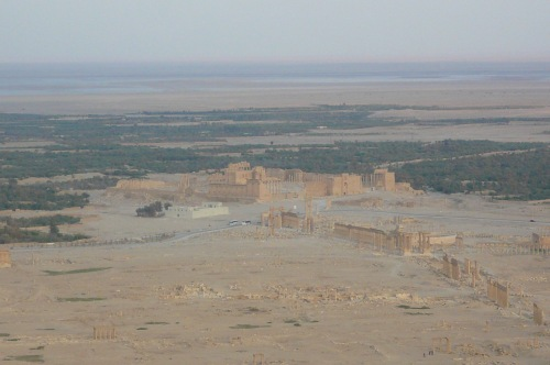 Palmyra in the distant desert where Zenobia was Queen