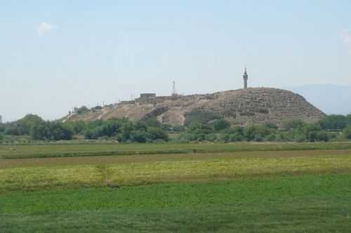 Tell Nebbi Nemb site where In 1274 BC the Egyptians and the Hittites are said to have joined in the battle of Kadesh
