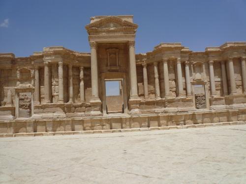Walking through Palmyra