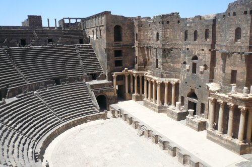 501. The famouse Bosra theatre