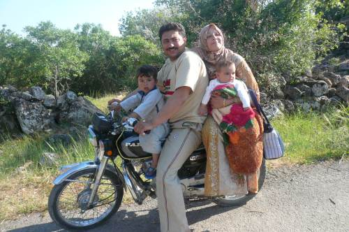 It was so few years ago that his happy family was on the road to  Al Bara . Where are they now I wonder.