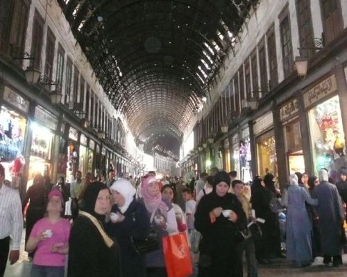 Some shop at the Damascus souk