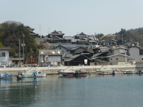 Houses at the port