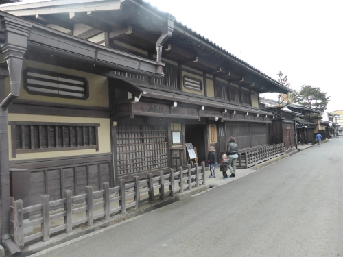 Kusakabe Heritage House rebuilt in 1880 - architecture of the Edo period when the Shogun ruled