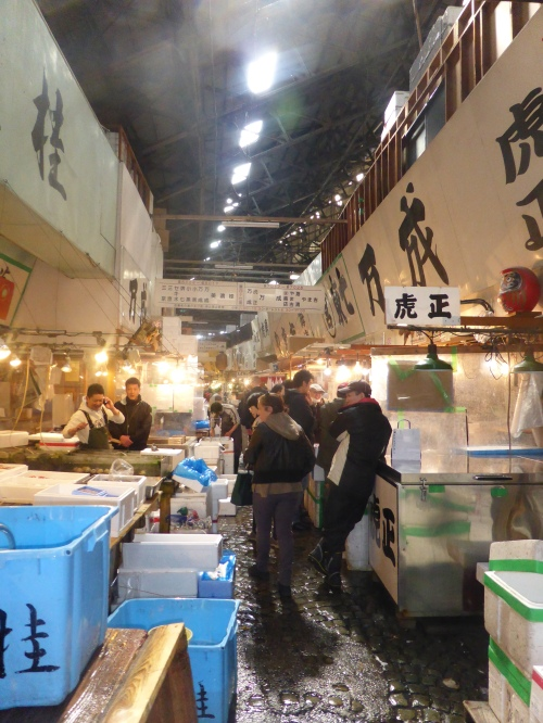 The last months of the old fish market near Ginza