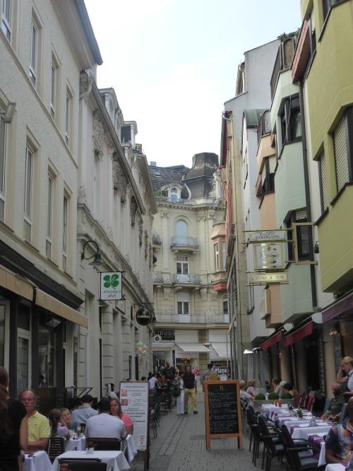 European street life