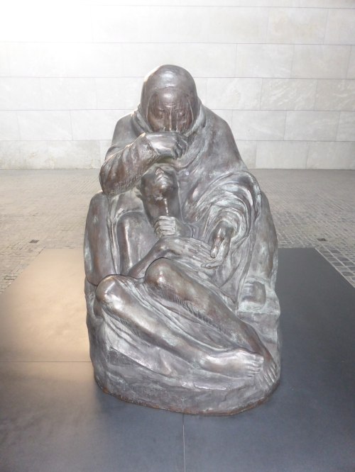 This is the pieta which sits in the peace memorial on Unter den Linden.