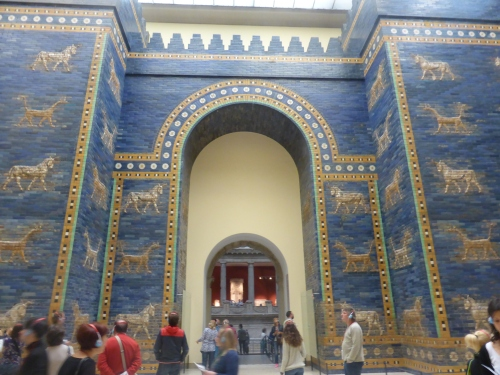 The Ishtar Gate - no photograph of mine could do it justice.