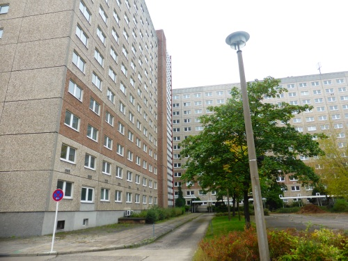 Part of the east Berlin Stasi offices