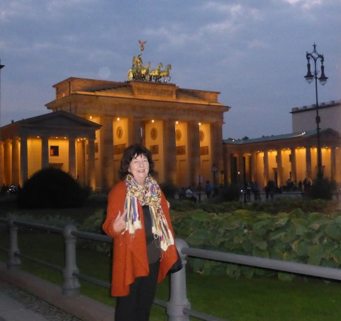 How could you go to Berlin and not have your photo taken at twilight by the Brandenburg gate?