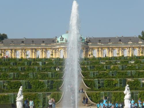 Schloss Sanssouci at Potsdam