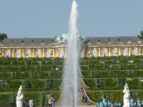 Schloss Sanssouci at Potsdam