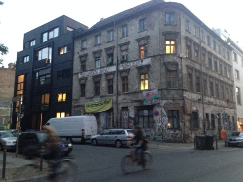 Old squat, smart neighbourhood, it may not last long but it is authentic.