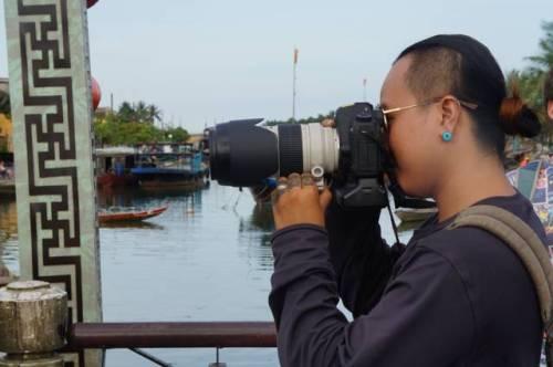 Serious photographer